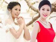 """Làng sao - Hoa hậu Ngọc Hân và nỗi niềm """"ngại"""" lấy chồng"""
