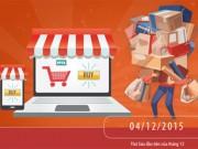 Tin tức thị trường - Tham gia OnlineFriday 2015: Doanh nghiệp tung khuyến mãi lớn