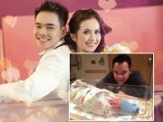 Làng sao - Miss teen Huyền Trang sinh con trai đầu lòng