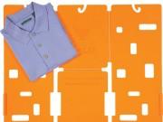 Tự chế  & quot;máy & quot; gấp quần áo trong 5 giây bằng giấy bìa cũ