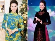 MC Thanh Mai thay 5 áo dài trong một sự kiện