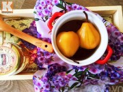 Bếp Eva - Lê hấp mật ong trị ho hiệu quả cho bé