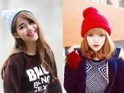 Làm đẹp - Những kiểu tóc xinh yêu kết hợp với mũ mùa đông