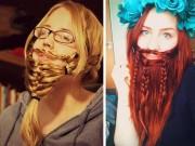 Làm đẹp - Giới trẻ mê mệt mốt tết tóc thành râu như đàn ông