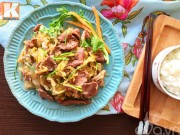 Bếp Eva - Bò xào dưa chua bắp cải ngon cơm