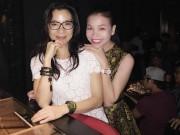 Làng sao - Trà Ngọc Hằng gặp gỡ Dương Tử Quỳnh tại Sài Gòn