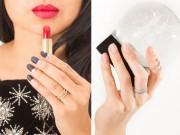 Làm đẹp - Cách vẽ 5 mẫu nail mùa đông nàng nhìn là muốn thử