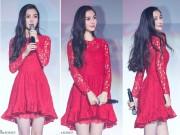 Làng sao - Angelababy đẹp như nữ thần hậu scandal với Dương Mịch