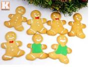 Cách làm bánh quy gừng mừng Giáng sinh