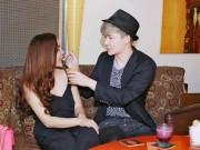 Làng sao - Nathan Lee tình cảm đút kem cho Ngọc Anh