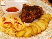 Bếp Eva - Thịt heo nướng kiểu Nga thơm phức cuối tuần