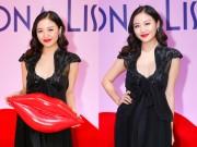 Làng sao - Văn Mai Hương diện váy xẻ sâu khoe vẻ quyến rũ