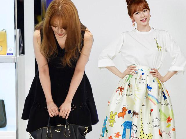 """""""Thái tử phi"""" Yoon Eun Hye cúi đầu xin lỗi vì đạo thiết kế"""