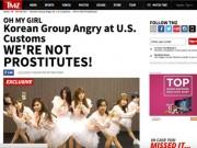 Làng sao - Báo chí quốc tế đưa tin nhóm nhạc Hàn bị nhầm là gái gọi