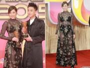 Làng sao - Chung Gia Hân diện đầm xuyên thấu tại lễ trao giải TVB