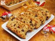 Bếp Eva - Tự làm bánh hoa quả cho Noel