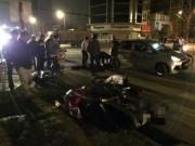 Tin tức - HN: Đứng giải quyết tai nạn, tài xế xe tải bị tông chết
