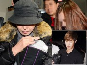 Bạn gái cũ Kim Hyun Joong đưa con trai đi xét nghiệm ADN