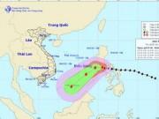 Tin tức - Siêu bão Melor mạnh lên, hướng vào phía quần đảo Trường Sa
