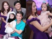Mr Đàm, Minh Tâm Bùi dự sinh nhật con gái Gia Bảo