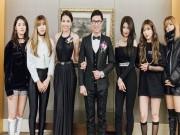 Trà Ngọc Hằng đọ sexy với Hyun Ah và 4 Minutes tại Hàn Quốc
