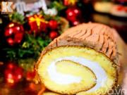 Bếp Eva - Cách làm bánh khúc cây mừng Giáng sinh