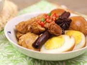 Bếp Eva - Đậu phụ kho trứng đậm đà, ấm áp