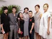Thời trang - Thanh Hằng và học trò tới chúc mừng Adrian Anh Tuấn