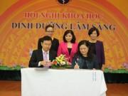 Tin tức sức khỏe - Vinamilk ký kết hợp tác chiến lược với viện dinh dưỡng quốc gia