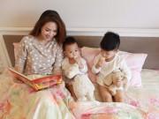 Tin tức sức khỏe - Đan Lê chia sẻ bí quyết phòng bệnh cho con