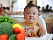 Làm mẹ - Top rau củ quả lý tưởng cho bé tập ăn dặm