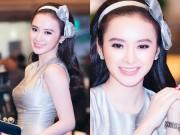 Làng sao - Angela Phương Trinh diện váy xinh như công chúa