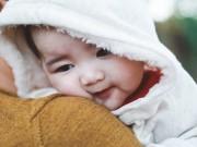 Làm mẹ - Tan chảy với vẻ xinh đẹp của con gái Kim Hiền