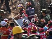 Tin tức - Lở đất tại TQ: Nạn nhân được cứu sống sau gần 70 giờ chôn vùi
