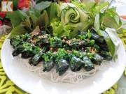 Bếp Eva - Bún lươn nướng lá lốt lạ miệng
