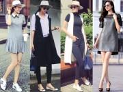 Thời trang - Thời trang dạo phố đẹp miễn chê của Phạm Hương