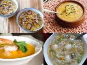 Làm mẹ - 4 món súp nóng hổi giàu dinh dưỡng giúp bé tăng cân