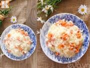 Bếp Eva - Xôi ngậm nước dừa với khoai lang thơm mềm béo ngậy