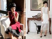 Thời trang - Mặc ren đẹp và sang như BTV Nicky Khánh Ngọc