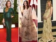 Chọn váy bầu dự tiệc lộng lẫy như mỹ nhân Hollywood