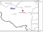 Tin tức - Thừa Thiên- Huế: Động đất lần thứ 6 trong tháng 12