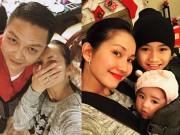 Kim Hiền hạnh phúc đón năm mới bên gia đình chồng