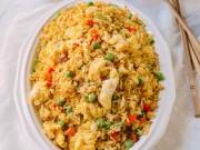 Bếp Eva - Thưởng thức cơm chiên trứng ngon miệng
