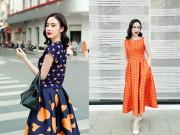 Thời trang - Angela Phương Trinh đẹp hút hồn với váy đầm sặc sỡ
