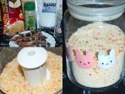 Làm mẹ - Mẹ Gấu mách cách tự làm bột nêm tôm cho bé ăn ngon chóng lớn