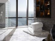 Nhà đẹp - Vứt hết giấy vệ sinh trong nhà nhờ bồn cầu 10.000 đô