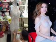 Thời trang - Sự thật về chiếc váy gây tranh cãi của Hà Hồ