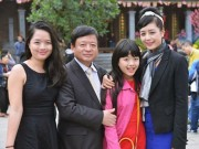 Làng sao - Chiều Xuân – Hồng Quân bật mí niềm hạnh phúc khi có hai cô con gái
