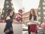 Quỳnh Nga xinh đẹp, trẻ trung với phong cách Hàn Quốc