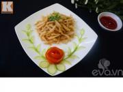 Bếp Eva - Cá cơm chiên giòn cho bé ăn ngon